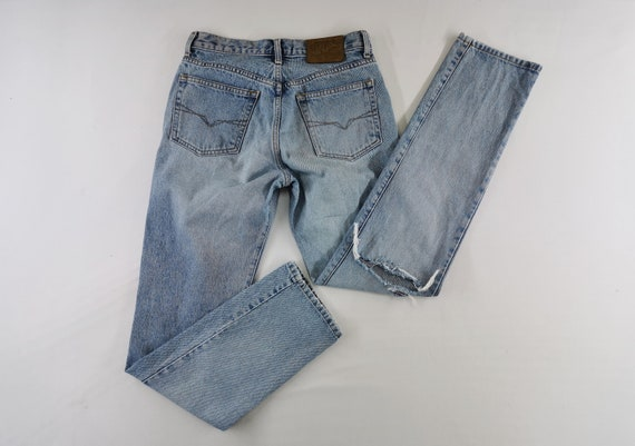 Guess Jeans Distressed Vintage Guess Denim Pants V