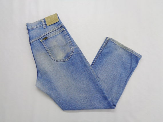 Lee Jeans Distressed Vintage Lee Denim Pants Lee V