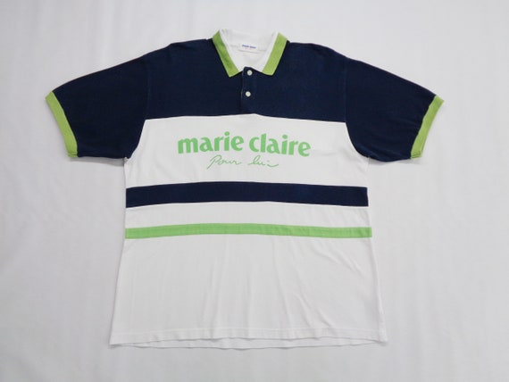 Marie Claire Shirt Vintage Marie Claire Polo Shirt