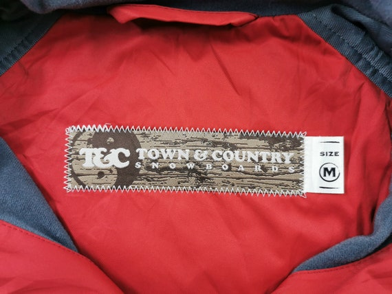 Town & Country Jacket Town Country Snowboards Win… - image 5