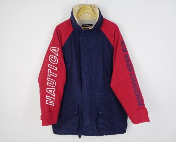 Nautica Jacket Vintage Nautica Windbreaker 90s Nau