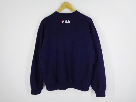 Fila Sweatshirt Vintage Fila Pullover Vintage 90s… - image 3