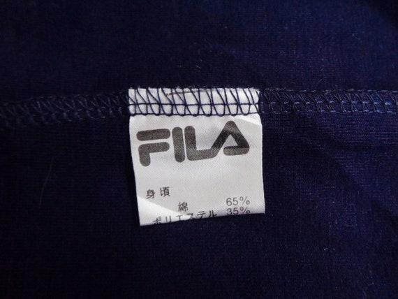 Fila Sweatshirt Vintage Fila Pullover Vintage 90s… - image 7