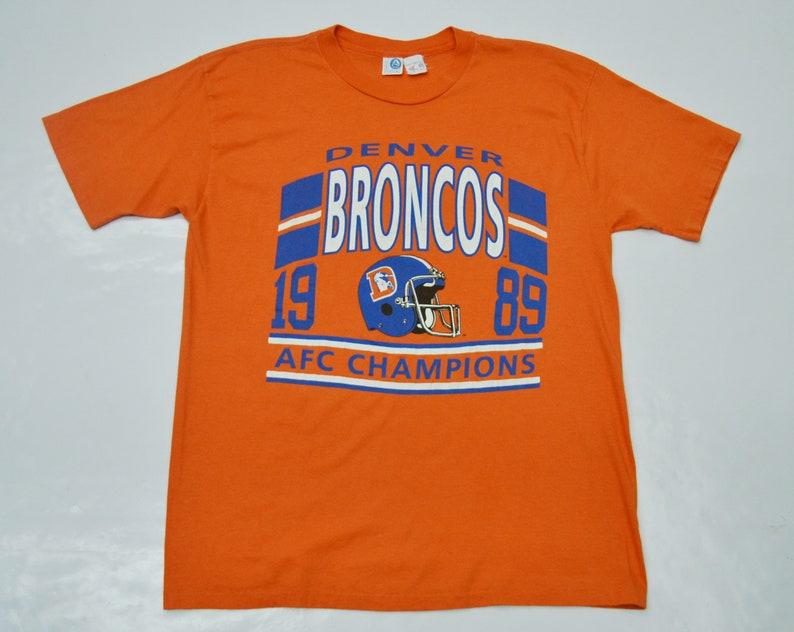 Denver Broncos T Shirt NFL Vintage