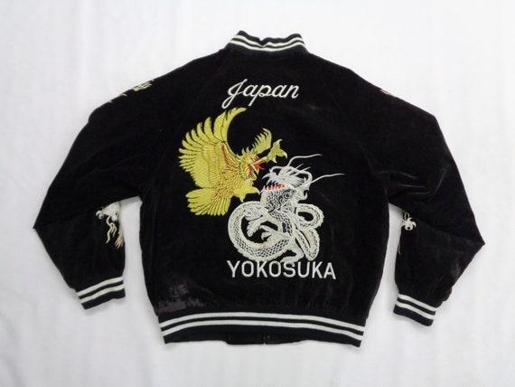 Sukajan Jacket Vintage Sukajan Bomber Jacket Vinta