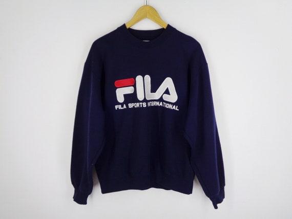Fila Sweatshirt Vintage Fila Pullover Vintage 90s… - image 2