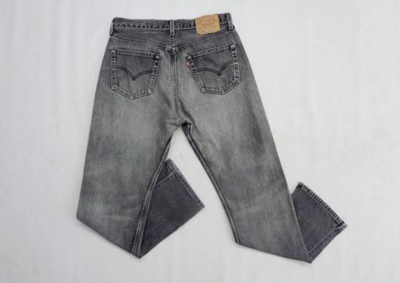 Levis 501 Jeans Distressed Vintage Size 33 Levis … - image 2