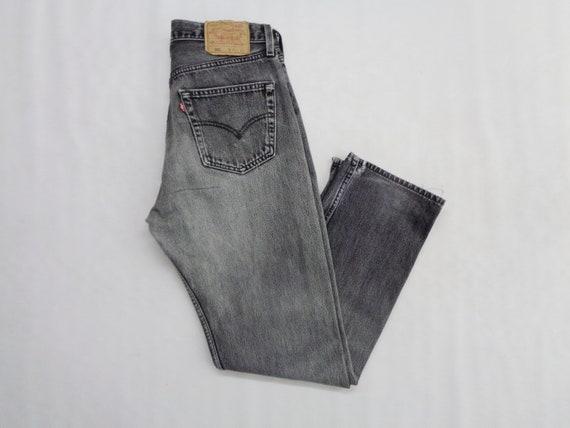 Levis 501 Jeans Distressed Vintage Size 33 Levis … - image 3