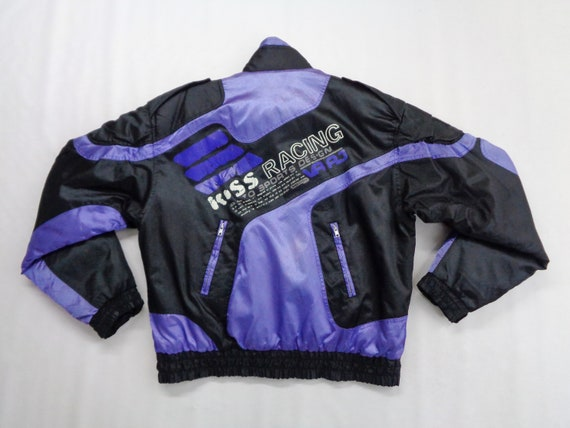 Kiss Racing Jacket Vintage Kiss Racing Windbreake… - image 6