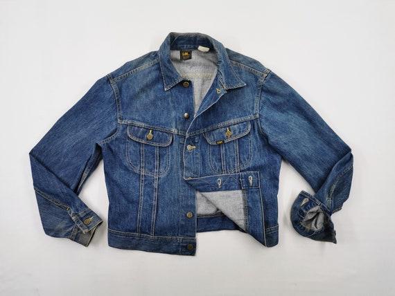 Lee Jacket Distressed Vintage Lee Denim Jacket Vin