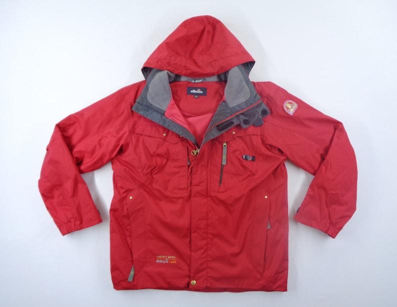 Ellesse Jacket Vintage Ellesse Windbreaker Vintage Ellesse Hert Max Windbreaker Ski Winter Jacket Size M