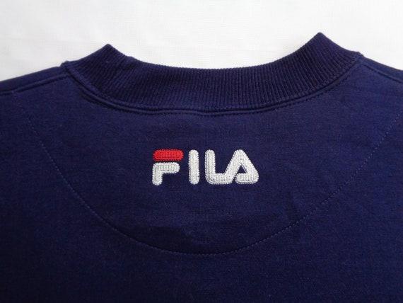 Fila Sweatshirt Vintage Fila Pullover Vintage 90s… - image 6