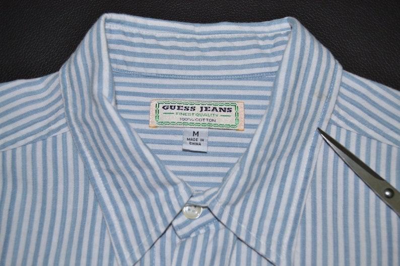 Guess Shirt Vintage Guess Casual Shirt Vintage Guess Vintage Button Up Shirt Size M