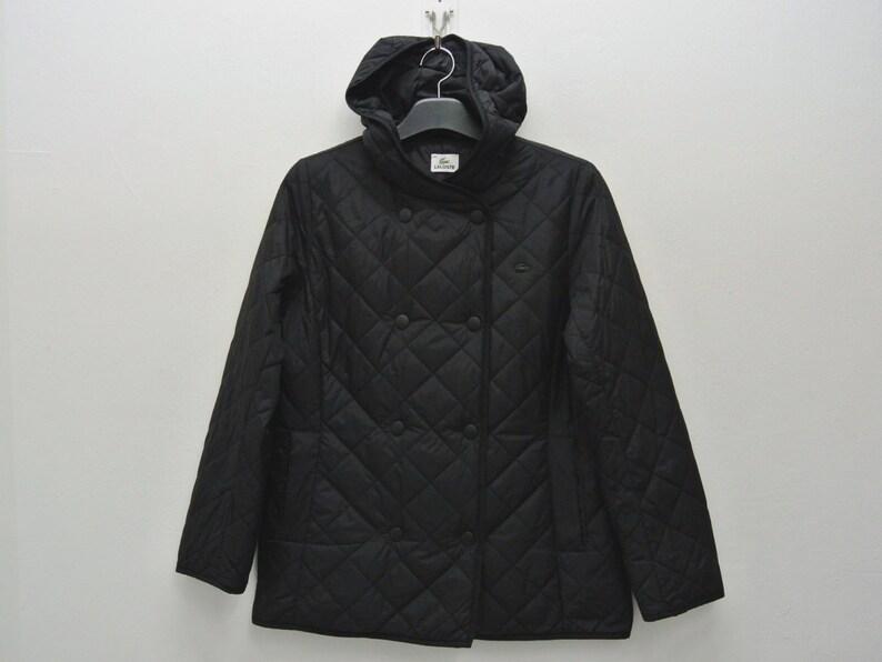 5111fee6cbba Lacoste Windbreaker Women Size L Lacoste Hooded Jacket Lacoste