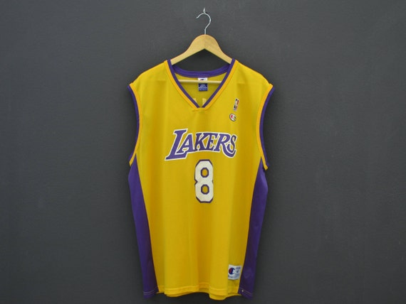 951083168a05 Kobe Bryant Jersey Champion LA Lakers Jersey NBA Lakers