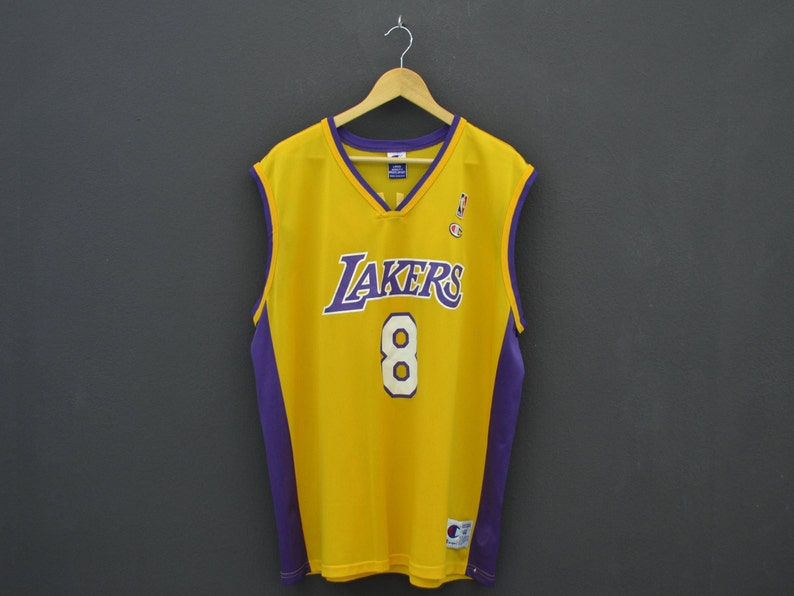 4cc787115ad Kobe Bryant Jersey Champion LA Lakers Jersey NBA Lakers | Etsy