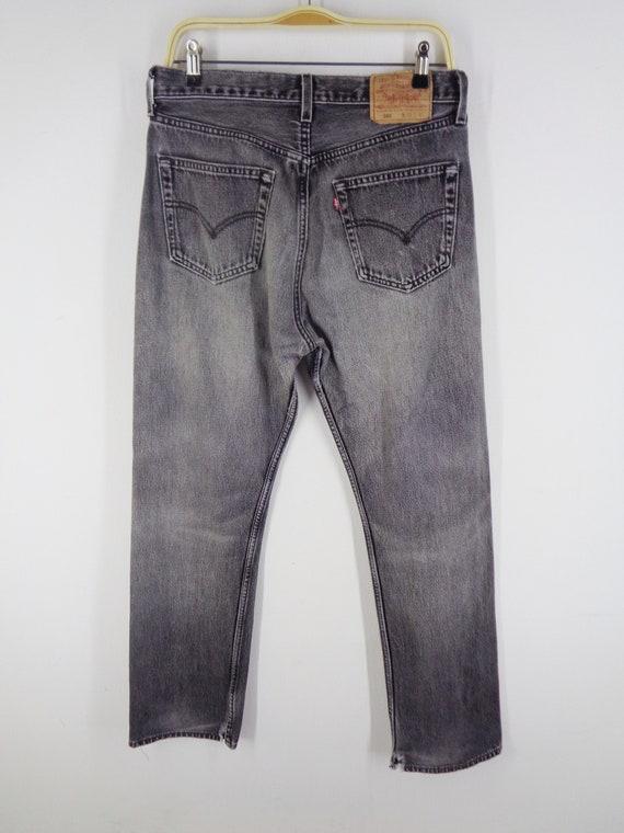 Levis 501 Jeans Distressed Vintage Size 33 Levis … - image 5