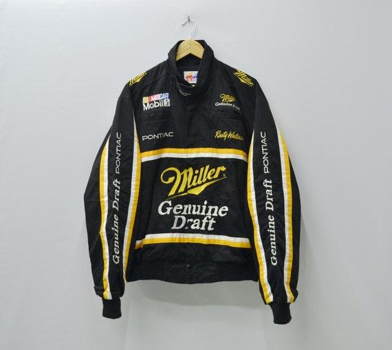 Nascar Jacket Vintage Nascar Rusty Wallace Jacket