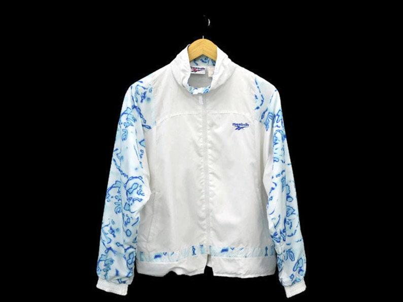 4e326dd6caa5c Reebok Vintage Reebok Windbreaker Vintage Reebok Jacket 90s Reebok Classic  Activewear Womens Size S/M
