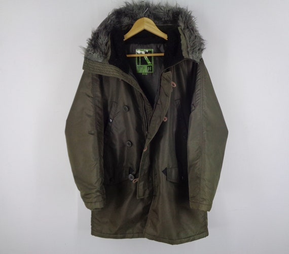 Neyries Parka Vintage Neyries Military Parka Jacke