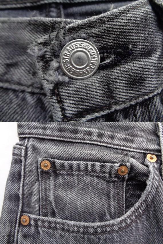 Levis 501 Jeans Distressed Vintage Size 33 Levis … - image 8