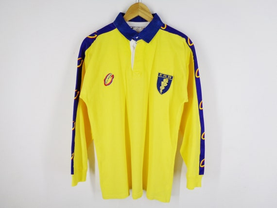Romania Rugby Shirt Vintage Romania Rugby Polo Shi