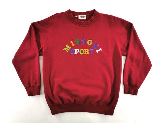 Missoni Sport Sweatshirt Vintage Missoni Sport Pul