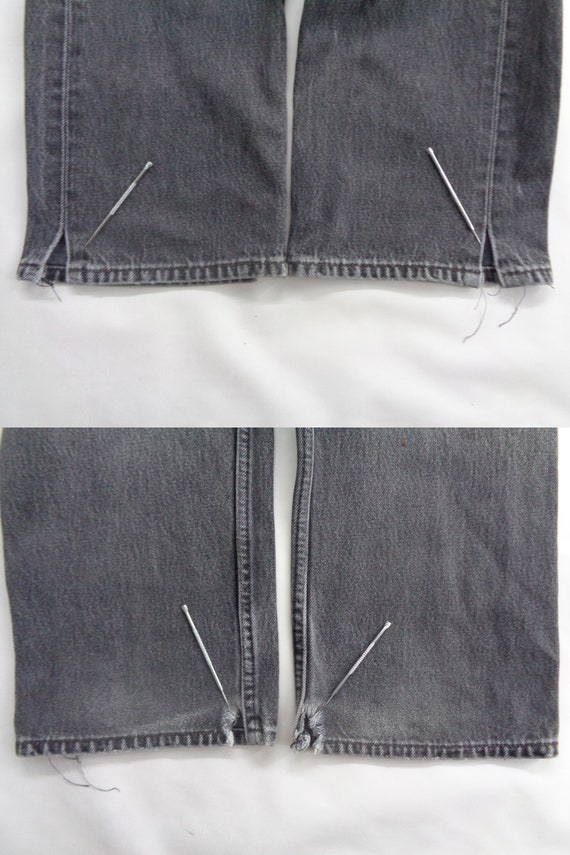 Levis 501 Jeans Distressed Vintage Size 33 Levis … - image 10