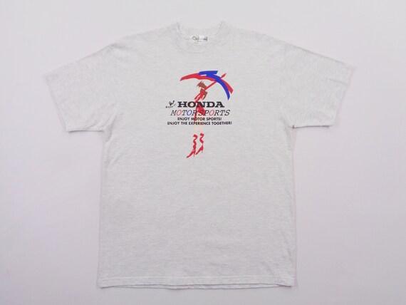 Honda Shirt Honda Motorsports T Shirt Honda Motors