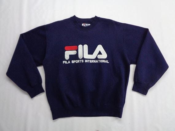 Fila Sweatshirt Vintage Fila Pullover Vintage 90s