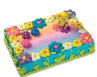 Fantastic Tweety Bird Cake Etsy Funny Birthday Cards Online Kookostrdamsfinfo