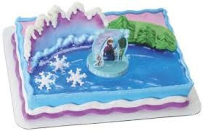 Disneys Frozen Movie Cake Topper Kit Birthday Party Supplies Toys Decoratio