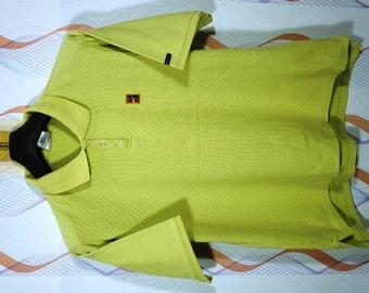 67c8d01fad449d Vintage Vtg 80S 90 s NIKE Challenge Court Andre Agassi Tennis shirt Woman  SIze Large L   Adidas Ivan Lendl   Stefan Edberg