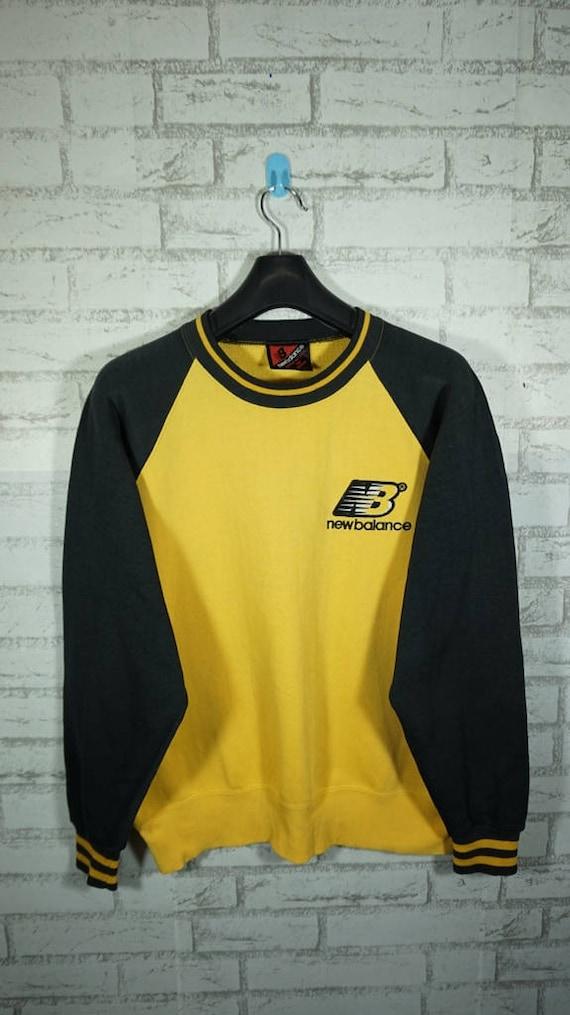 e82c6eef07b0f Vintage New balance Sweatshirt Size Large L / Color Block/ | Etsy