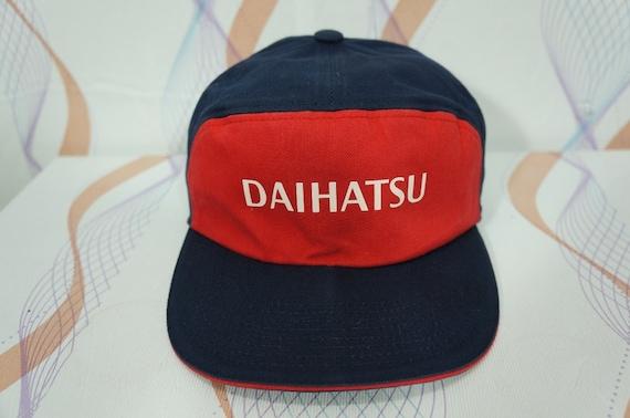 b0ff5343ea4 Vintage 80s 90s Daihatsu Adjustable Cap Hat   vintage toyota
