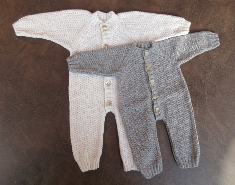 100% Cashmere Baby Romper/Overall/Coverall/Onesie  Free image 0