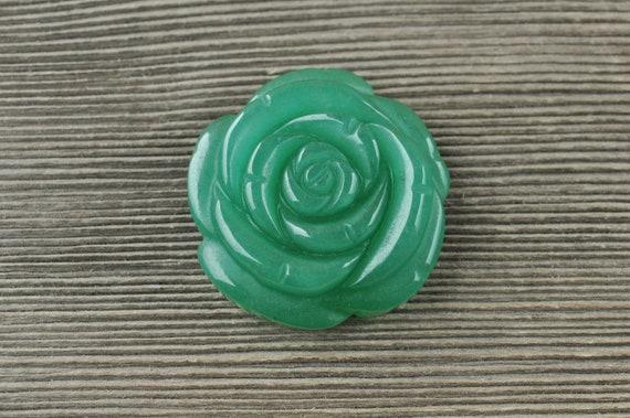 Green Aventurine Flower!