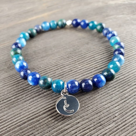 Throat Chakra, Gemstone Bracelet