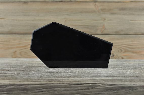 Awesome Black Obsidian Coffin, Tomb!