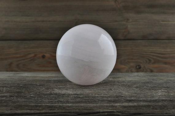Beautiful Pink Mangano Calcite Sphere!