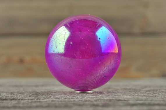 Ruby Aura Sphere, 2 inches!