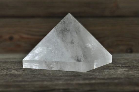 Beautiful Clear Quartz Pyramid, 2.5 inches!