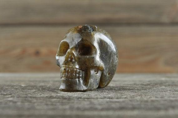 Labradorite Crystal Skull! WOUNDED WARRIOR
