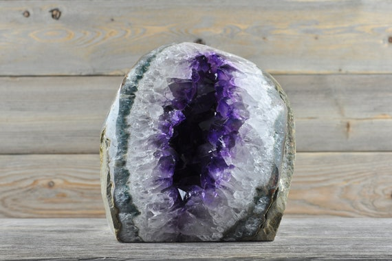 Polished Uruguayan Amethyst Geode PL3-027!