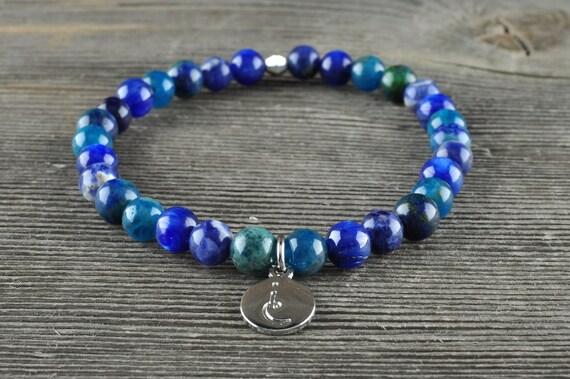 Throat Chakra, Gemstone Bracelet