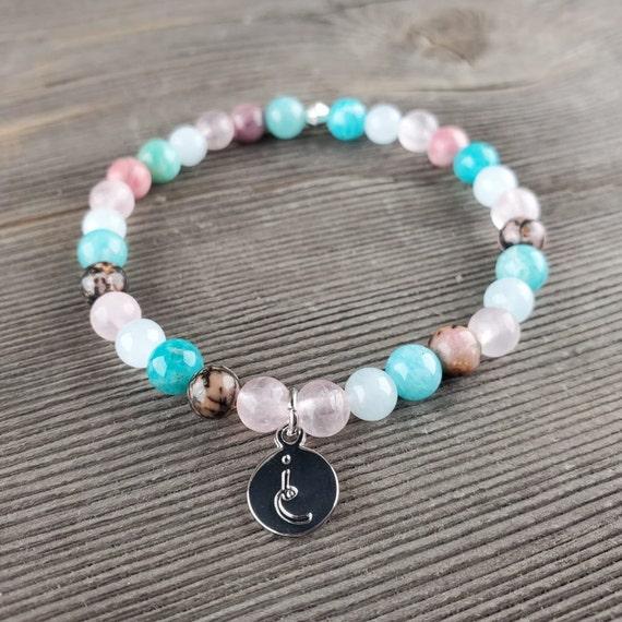 Heart Chakra, Gemstone Bracelet