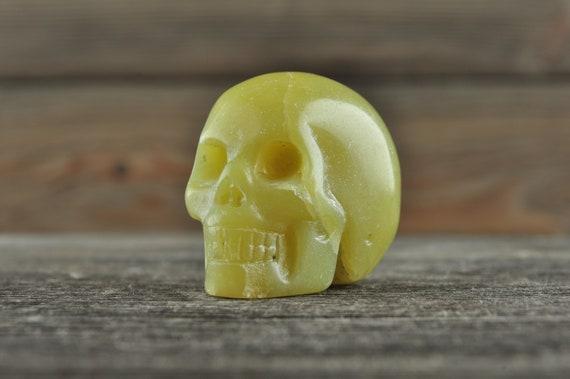 Nephrite Jadeite Crystal Skull! WOUNDED WARRIOR