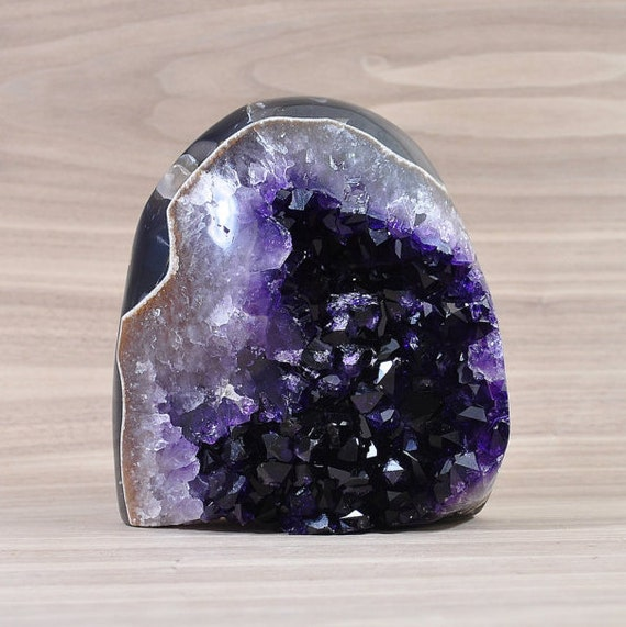 AA Quality, Unique Uruguayan Polished Amethyst Cluster! PL1-028