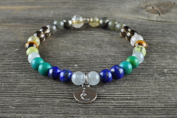 Anxiety + Depression, Gemstone Bracelet