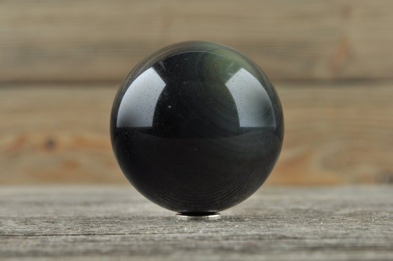 Rainbow Obsidian Sphere, 1.5 inches!